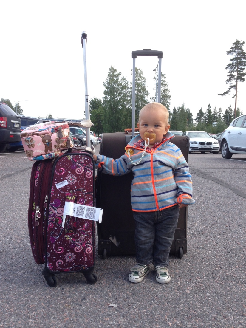 Three advantages of being a travelingtoddler